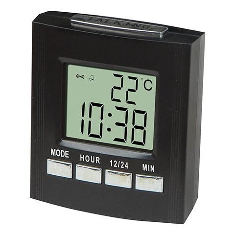 Часы электронные настольные 7027С, 2xAA (говорящие)