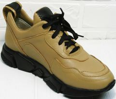 Осенние женские кроссовки Poletto 2408 DB