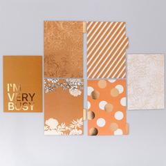 Набор картонных разделителей для планера «Крафт», 16 × 25, 6 листов
