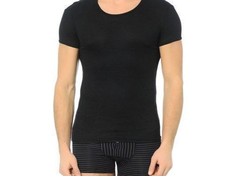 Мужская футболка черная  Doreanse 2535