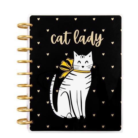 Ежедневник 2021 Cat Lady Classic Vertical Happy Planner®  - 12  мес -  19,5х24,5см