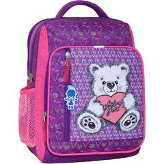 Рюкзак школьный Bagland Школьник 8 л. 339 фiолетовий 377 (00112702)