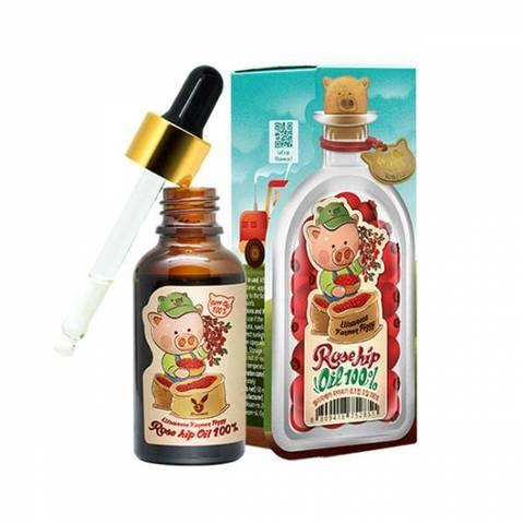 Elizavecca Масло 100% шиповника Farmer Piggy Rose Hip Oil, 30 мл