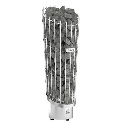 Электрическая печь SAWO PHOENIX PNX3-60NI2-P (6 кВт, нержавейка, выносной пульт, напольная,  встроенный блок мощности)