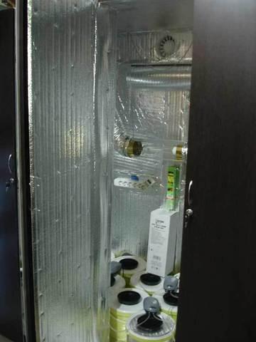 Гроубокс Growbox 200x200x80