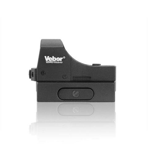 Прицел коллиматорный Veber Black Fox 123 RD Weaver