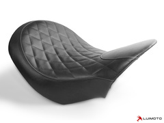 XDIAVEL 16-19 Vintage Diamond Rider Seat Cover