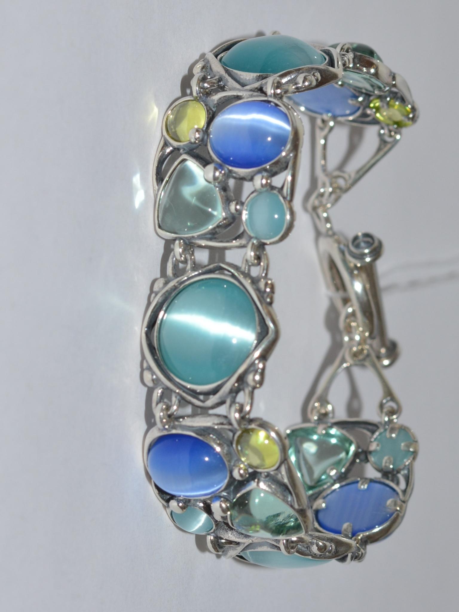Водевиль (браслет из серебра)