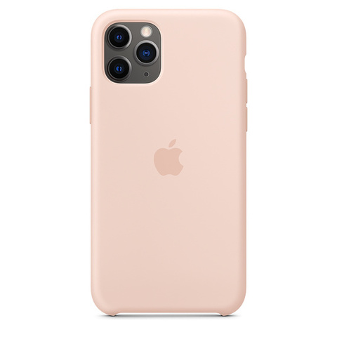 Чехол IP11 PRO MAX Silicone Case Pink Sand