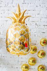 Фольгированный шар ананас