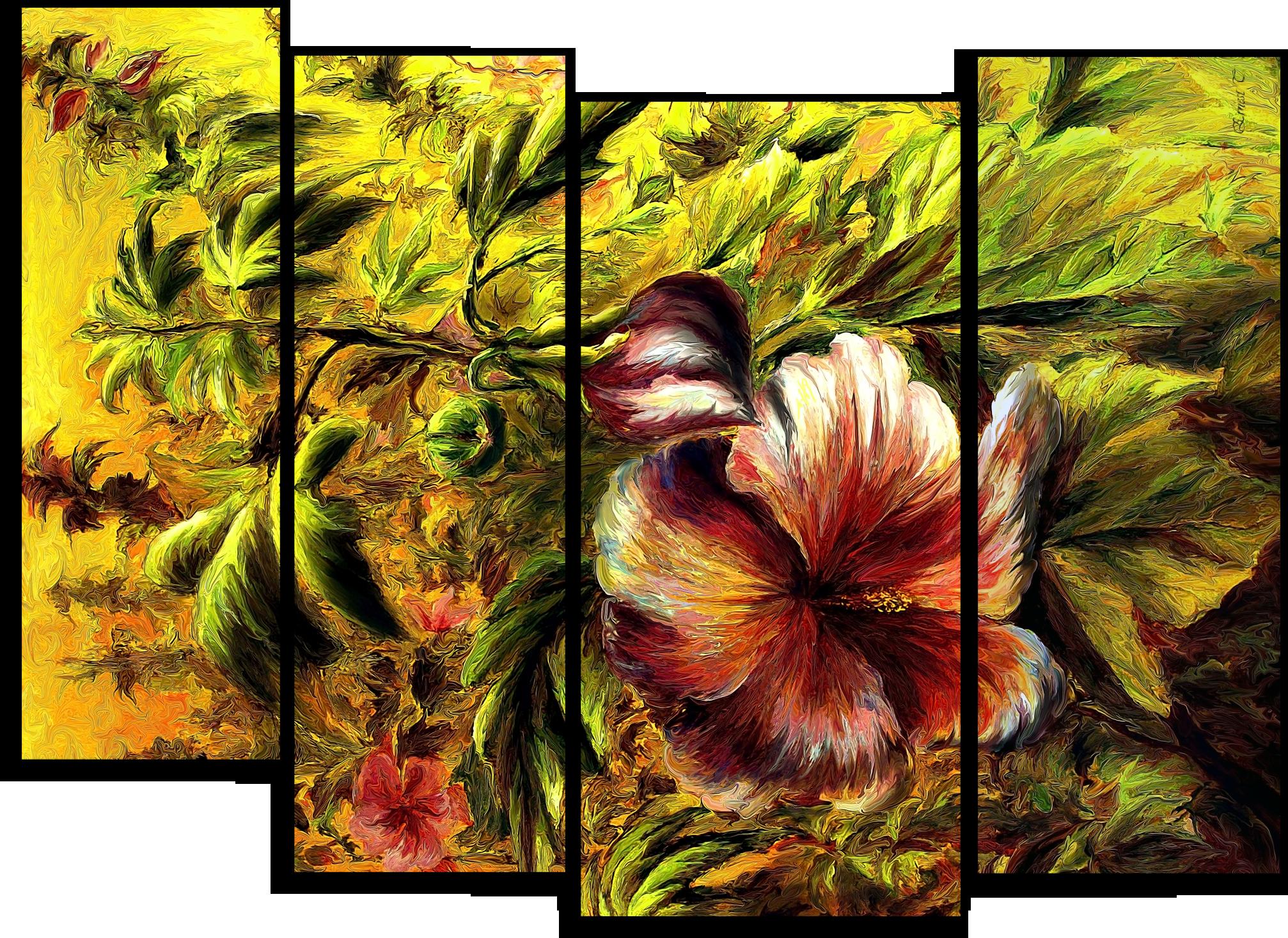 "Цветы Модульная картина ""Солнце на дереве"" М730.png"