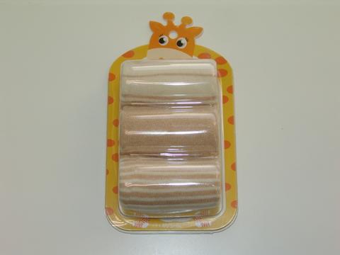 Хлопковые детские носки Kardli 3 пары в упаковке размер М