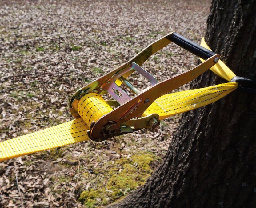 Слэклайн 50мм/15м (жёлтый) Фото №5