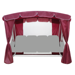 Тент-шатер для качелей садовых Золотая корона