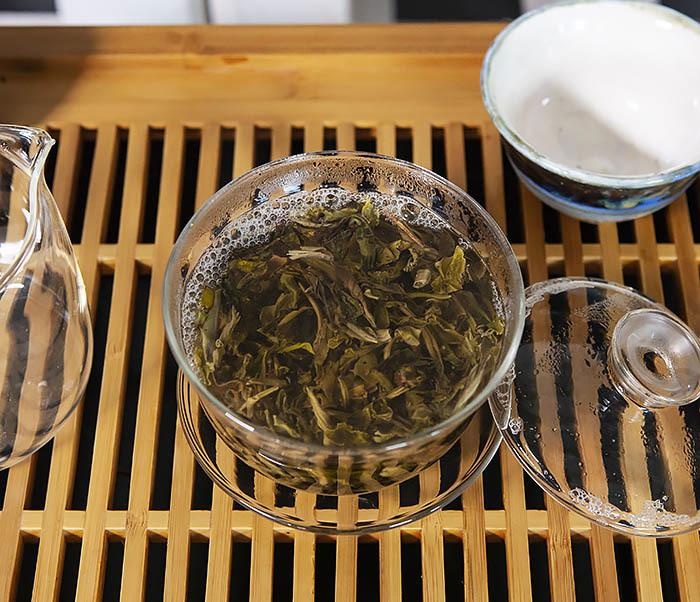 TEA-CH116 Китайский чай Шен Пуэр из Фэнцин «Мао Ча» (50 гр) фото 07