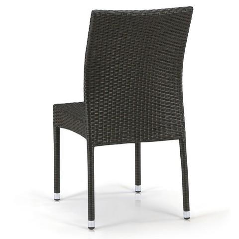 Плетеный стул Y380A-W53 Brown