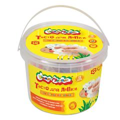 Тесто для лепки Каляка-Маляка (12 цветов, 360г, 2 формочки) в банке, ТЛБКМ-12/30