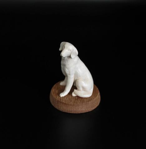 Скульптура из бивня мамонта «Собака» №1