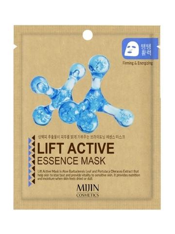 Маска тканевая с эффектом лифтинга Mijin  LIFT ACTIVE ESSENCE MASK