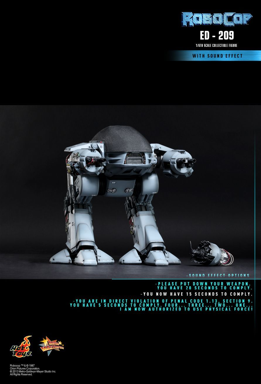 Robocop ED-209 Movie Masterpiece 1/6 Scale Figure