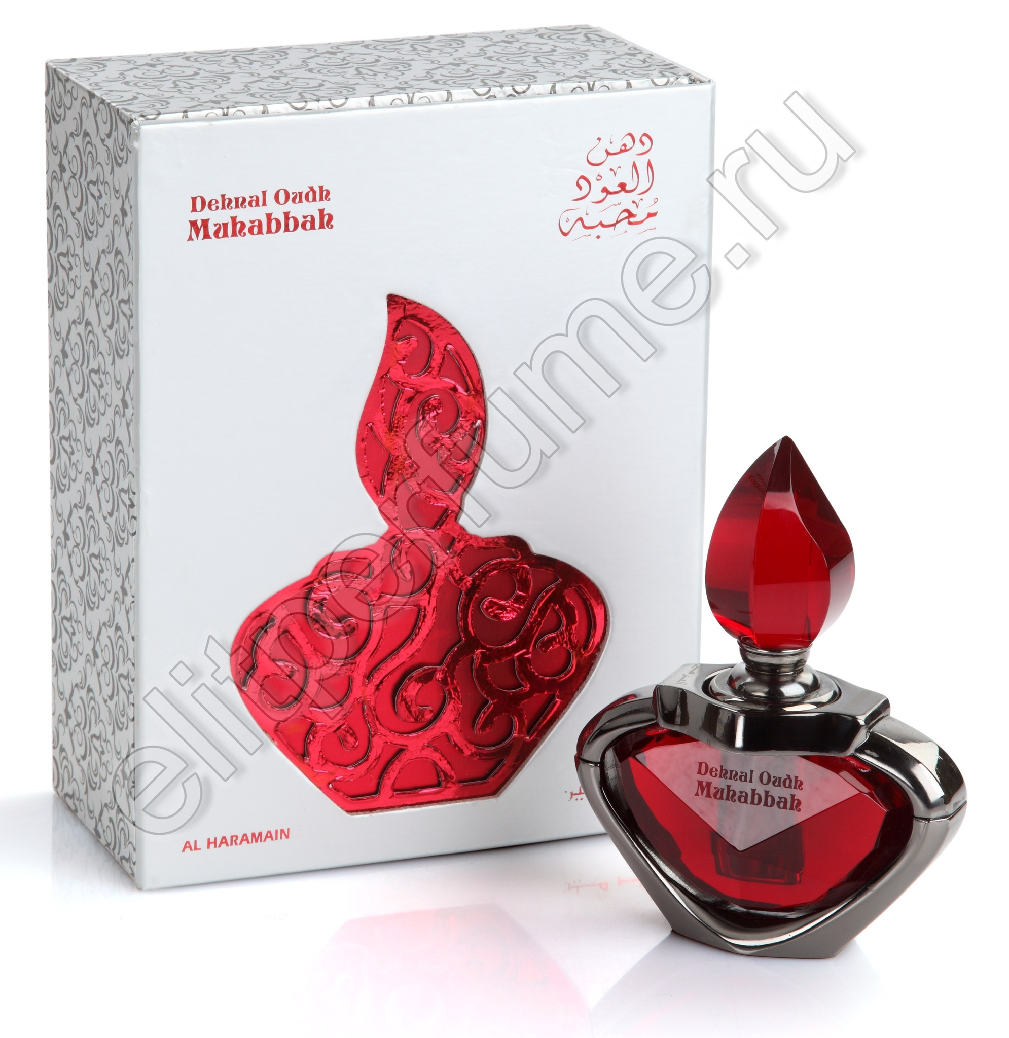 Денал Уд Махаба Dehnal Oudh Mahabbah 3 мл арабские масляные духи от Аль Харамайн Al Haramain Perfumes