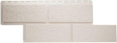 Фасадная панель Альта Профиль Неаполь Белый 1250х450 мм