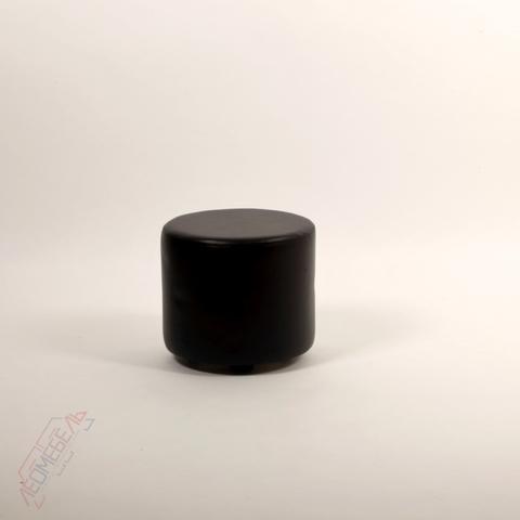 Пф-03 Пуфик круглый (черный) для дома и магазина