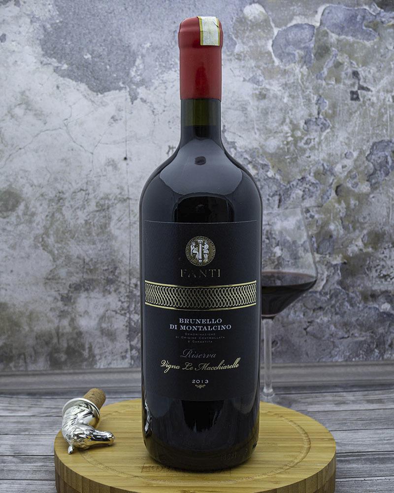 Вино Fanti Красное Сухое Брунелло ди Монтальчино Ризерва «Винья Ле Маккиарелле» 14,5% 1,5 л.