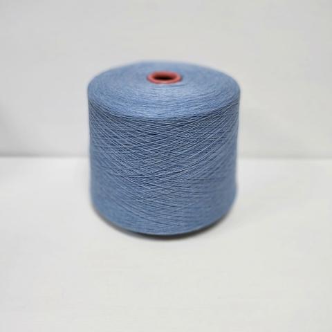 Lambswool, Шерсть ягненка 100%, Голубой меланж, 1/16, 1600 м в 100 г
