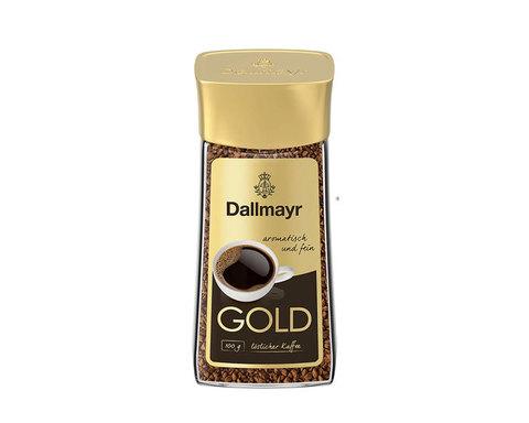 купить Кофе растворимый Dallmayr Gold, 100 г стеклянная банка