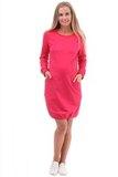 Платье для беременных и кормящих 09958 малиновый