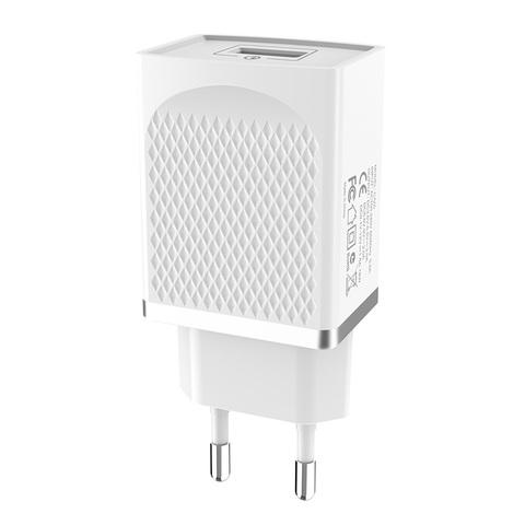 Зарядное устройство Hoco C42a, Quick Charge 3.0  (Белое)