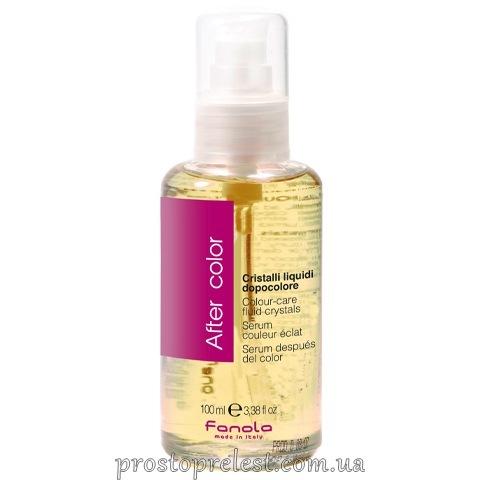 Fanola Colour-Care Fluid Crystal - Рідкі кристали для фарбованого волосся