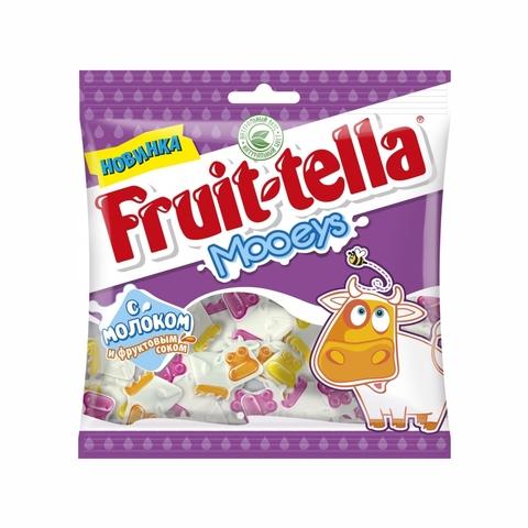 Мармелад жев FRUIT-TELLA Jellies Mooeys 65 г Perfetti Van Melle РОССИЯ