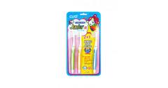 Зубная щетка набор Junior R 2+1 CLIO 3шт