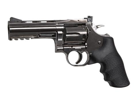 Револьвер пневматический Dan Wesson 715 4 steel grey (Артикул 18611)