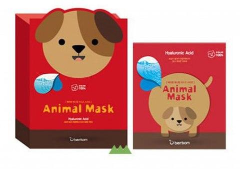 Маска тканевая с гиалуроновой кислотой Animal mask series
