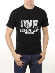 461493-43 футболка мужская, черная