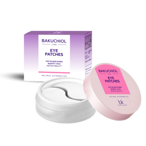 BelKosmex Bakuchiol line Патчи для кожи вокруг глаз instant beauty 50г