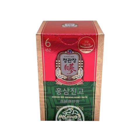Экстракт из корня корейского красного женьшеня с медом Korean Red Ginseng Honey Paste 100г Корея