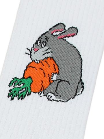 Носки Кролик с морковкой