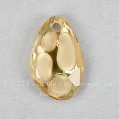 6730 Подвеска Сваровски Radiolarian Crystal Golden Shadow (18х11,5 мм)