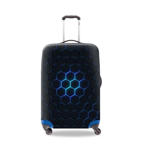Чехол для чемодана  - Соты