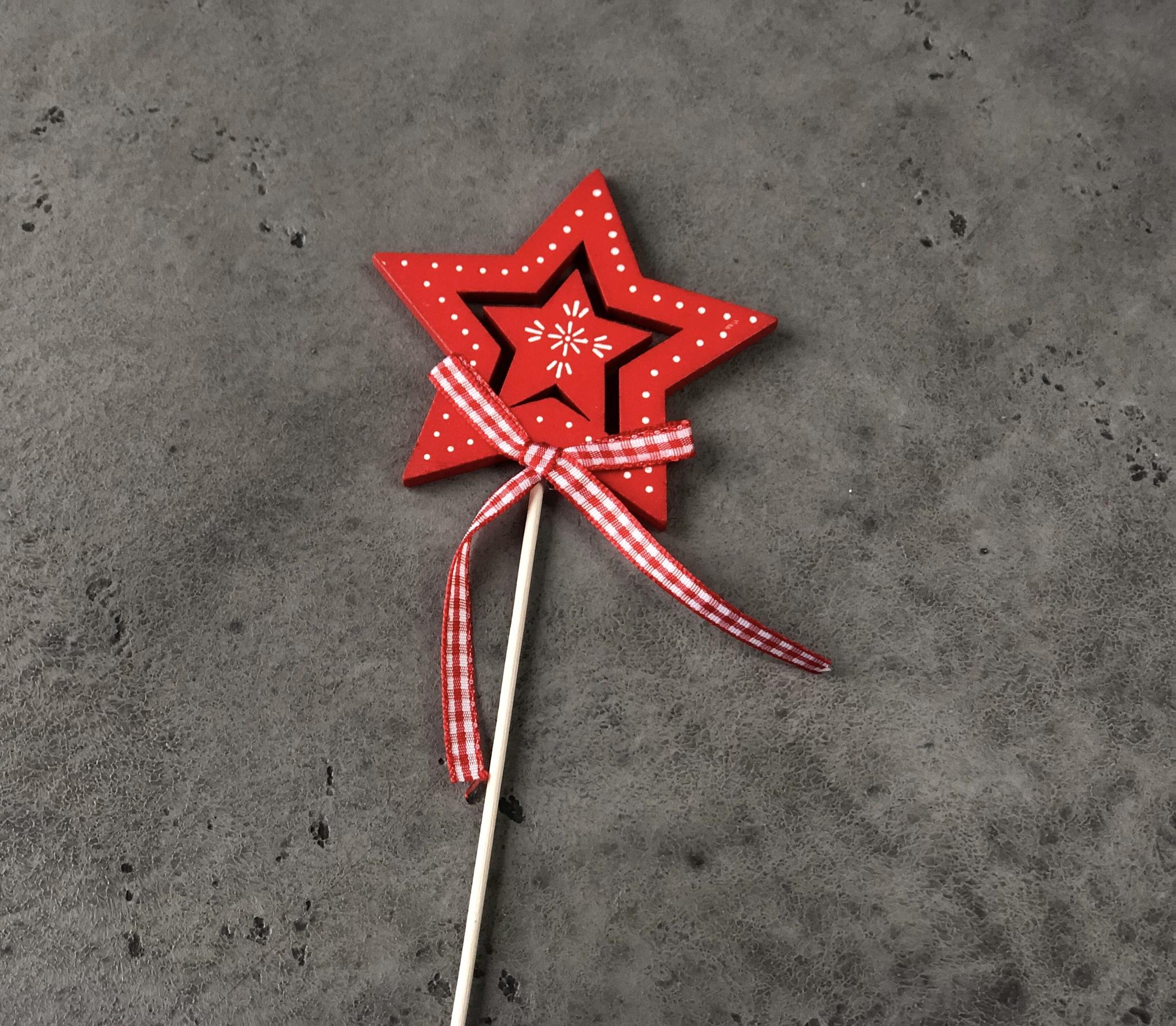 Топпер «Звезда», красная