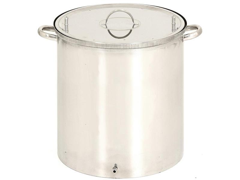 Коптильни Коптильня Магарыч круглая холодного и горячего копчения 35 литров (гидрозатвор) (45x37x41) 1.jpg