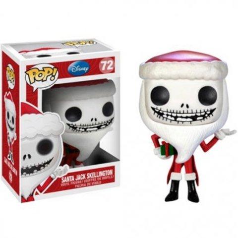 Фигурка Funko Pop Санта Джек Скеллингтон - Кошмар перед Рождеством (Nightmare Before Christmas - Santa Jack Skellington)