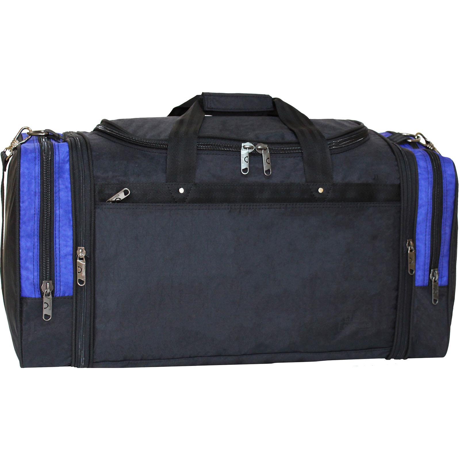Дорожные сумки Спортивная сумка Bagland Мюнхен 59 л. Черный/электрик (0032570) IMG_1464_32570_.JPG