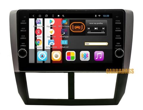 Магнитола для Subaru Impreza 2007-2011 Android 8.1 2/32 модель CB1156T8