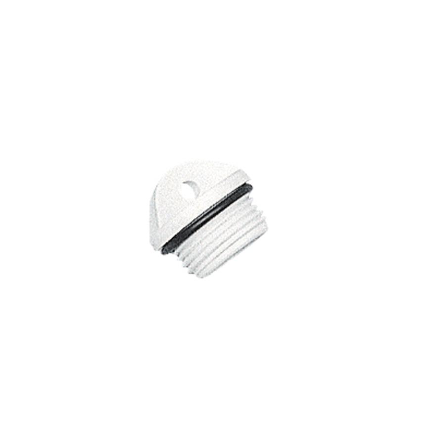 Plug for Drain Socket, White