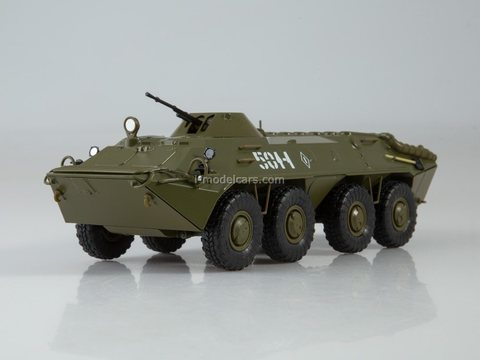 Armored personnel carrier BTR-70 Our Tanks #46 MODIMIO Collections